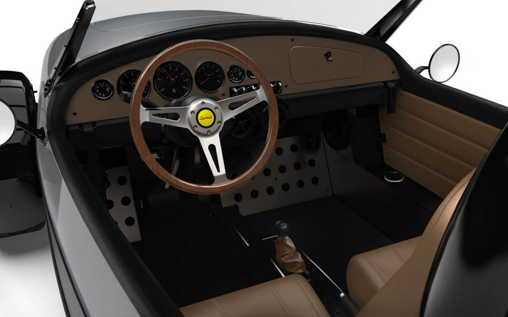 Interior of the Carmel with Jean Grey Exterior