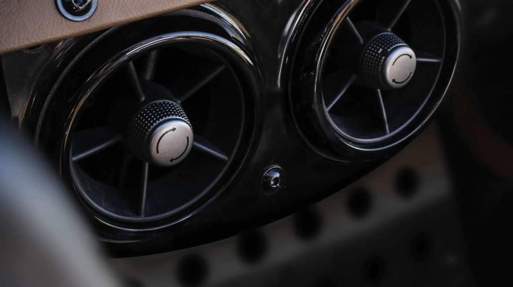 Vanderhall Vollwertige Innenraumheitzung Fahrer und Beifahrer