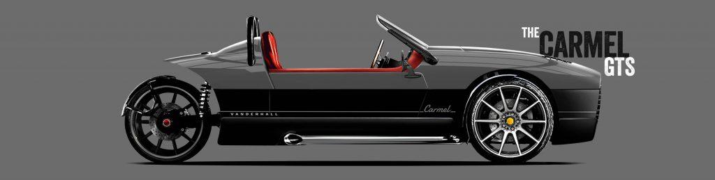 Vanderhall Carmel GTS Seitenansicht Titelbild